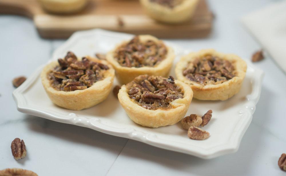 Bite Size Pecan Pie | Perfect Party Dessert