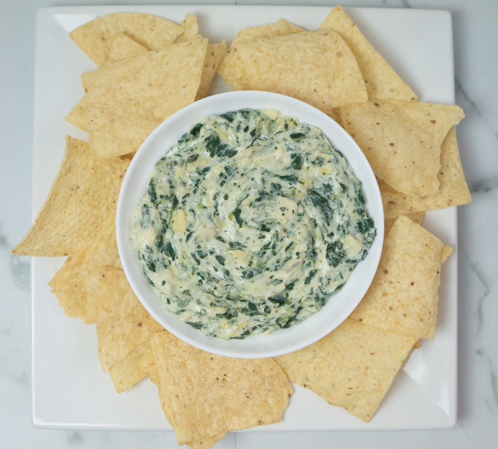 The Best Cheesy Spinach and Artichoke Dip | Quick Appetizer Recipe