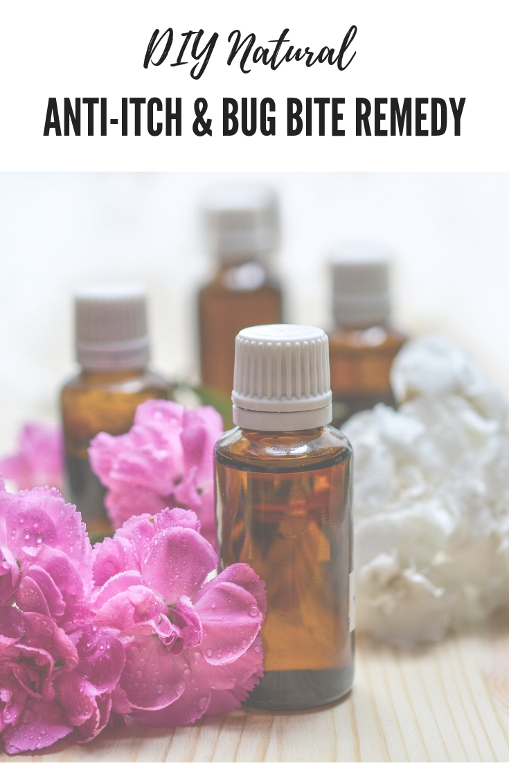 Homemade Natural Anti-Itch Remedy and Bug Bite Soother | Safe for Kids