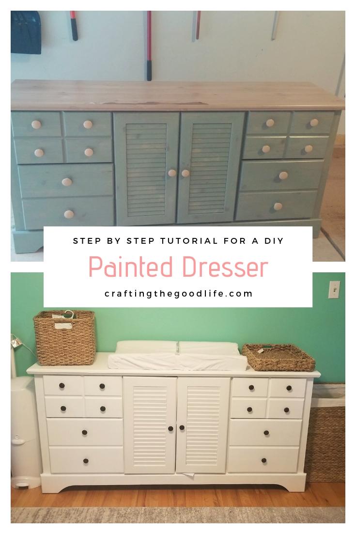 Easy Painted Dresser DIY Tutorial