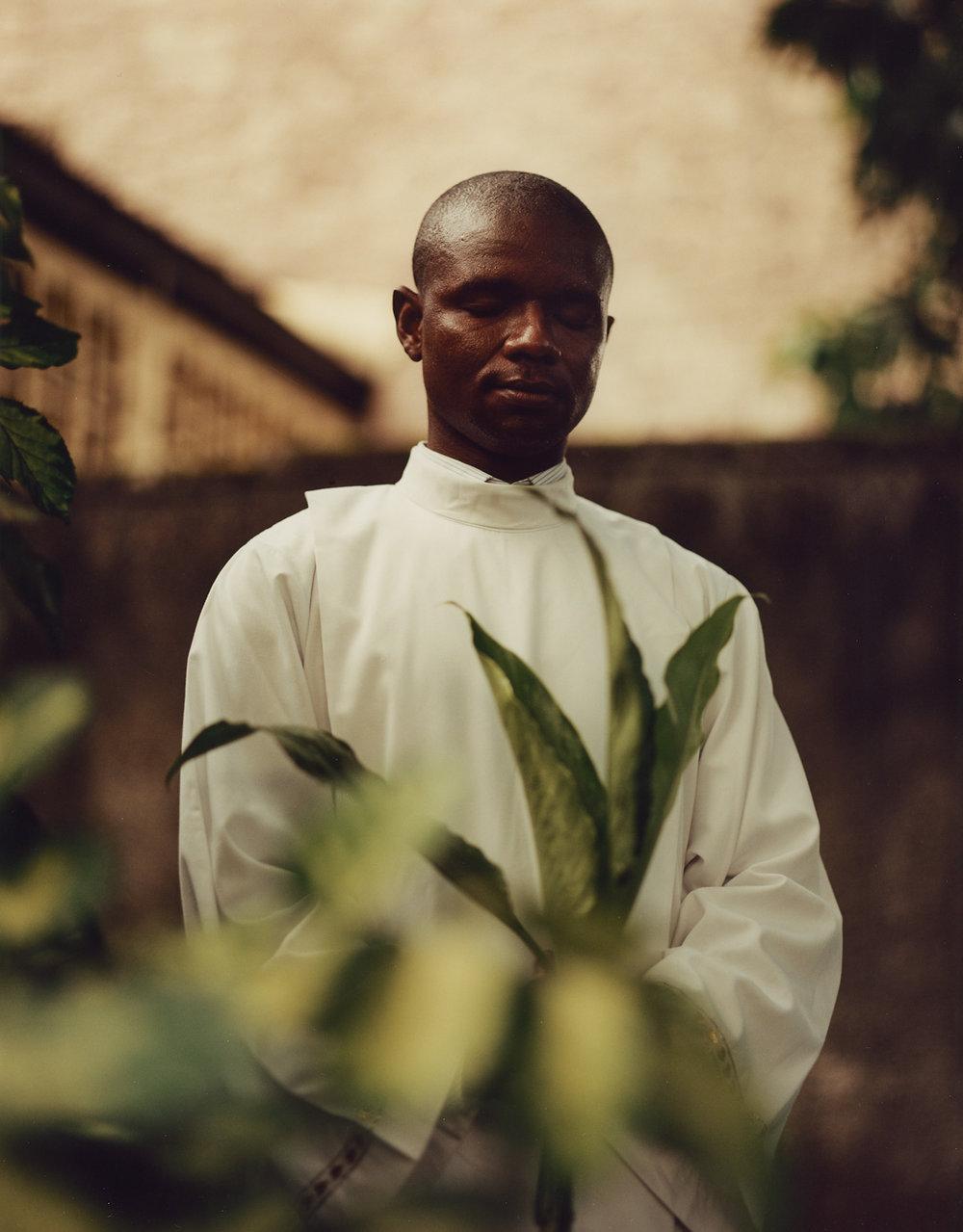 Père Jean Nkongolo, St. Dominique, Limete, Kinshasa.