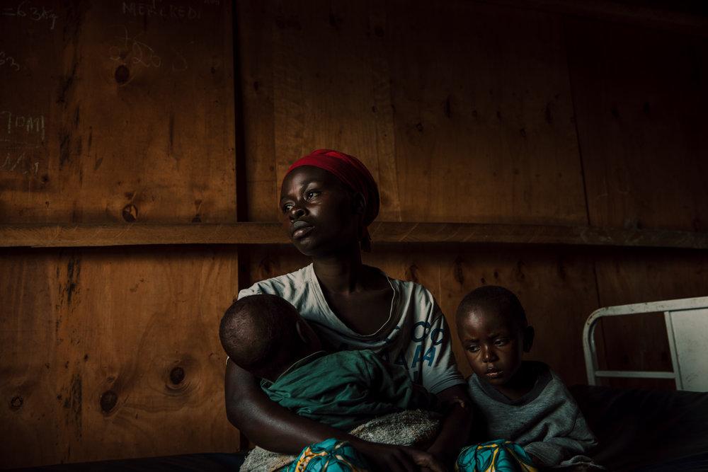 Stolen Childhood in Conflict. North Kivu, Democratic Republic of Congo.