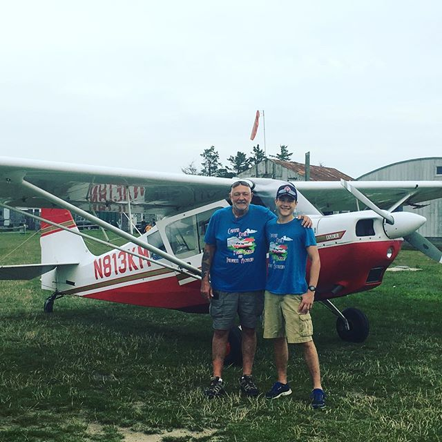 Great flying on the Vineyard!  This weekend was Liam Mahoney's first solo. 7-22-17 at Katama Airpark.  Go Liam!!