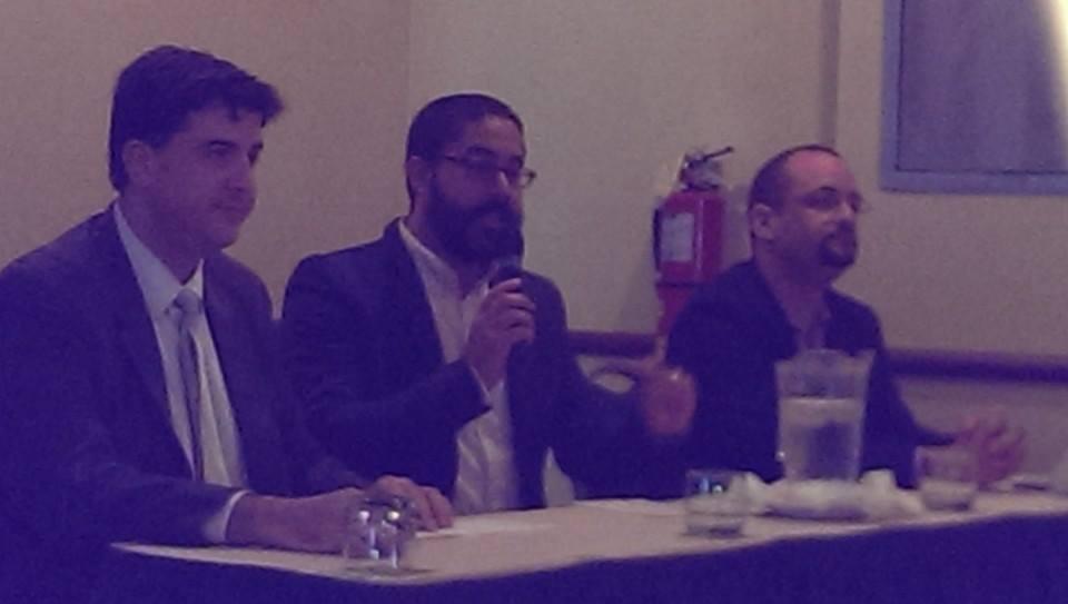 Foto panel Economistas