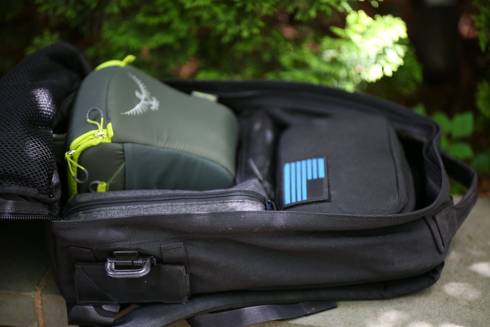 """The GR1 21L is jus about perfect size for a daily-driver backpack. Its got a 18.5"""" back panel, making git equivalent in size to a typical Herschel backpack in overall capacity."""