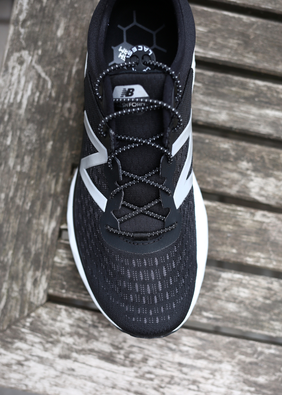 The mid/outsole is even wider than it looks in this pic. Its positively huge at the forefoot. I love it. Also shown here are my Laces-Locks, not included with the shoes. The 1080 V9 does include elastic laces, which are notably awesome as many great shoes don't, even in 2019.
