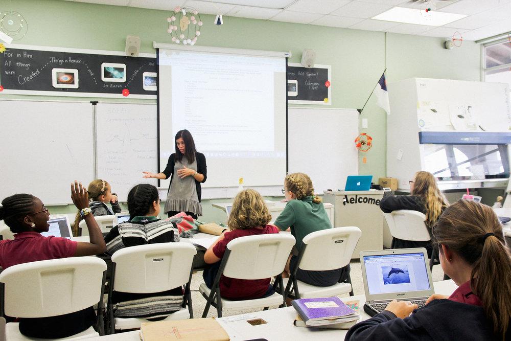 HDA Science Classroom