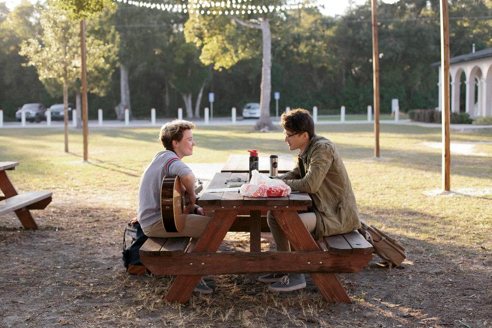 Outdoor Community Classroom and Break Spaces