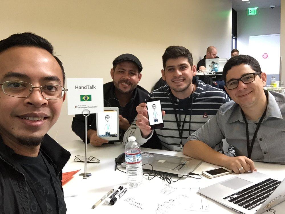 Mentoring Handtalk from Brazil