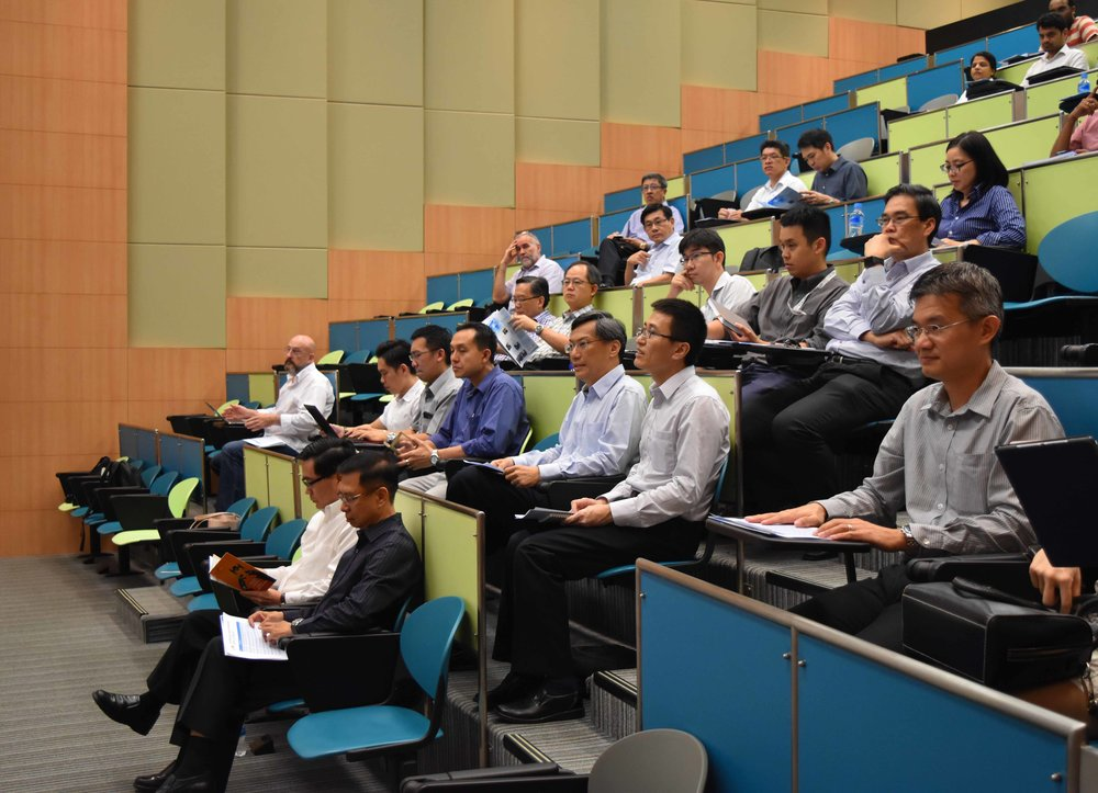 Event held at Nanyang Polytechnic Lecture Theatre LTR-1