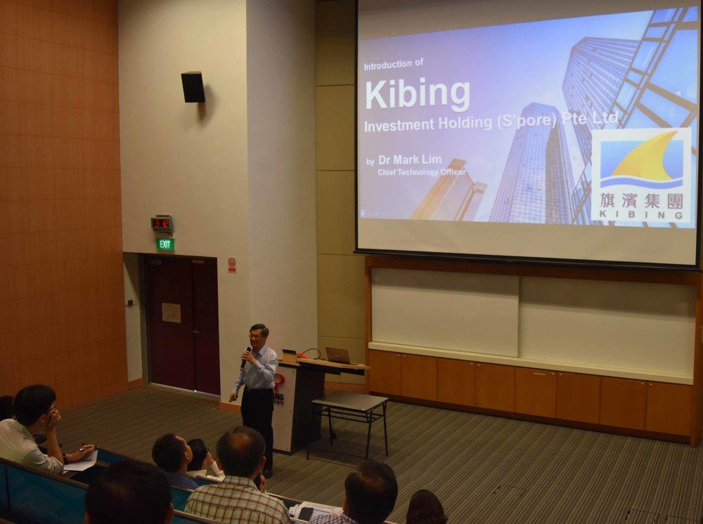 Dr Mark Lim of KIBING