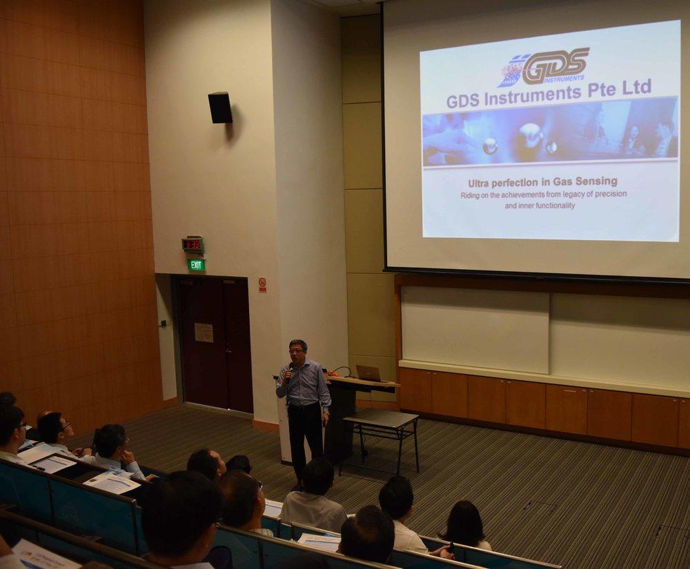 Mr Patrick Chan of GDS INSTRUMENTS