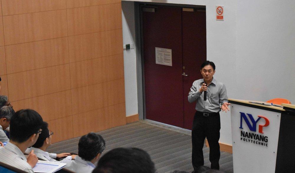 Mr Desmond Tan of Nanyang Polytechnic