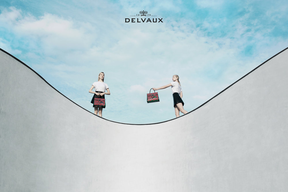 Villa MQ was the flowing scenary for the Hero Bag of Delvaux, the oldest fine leather luxury goods house in the world.  Photo: Marie Wynants