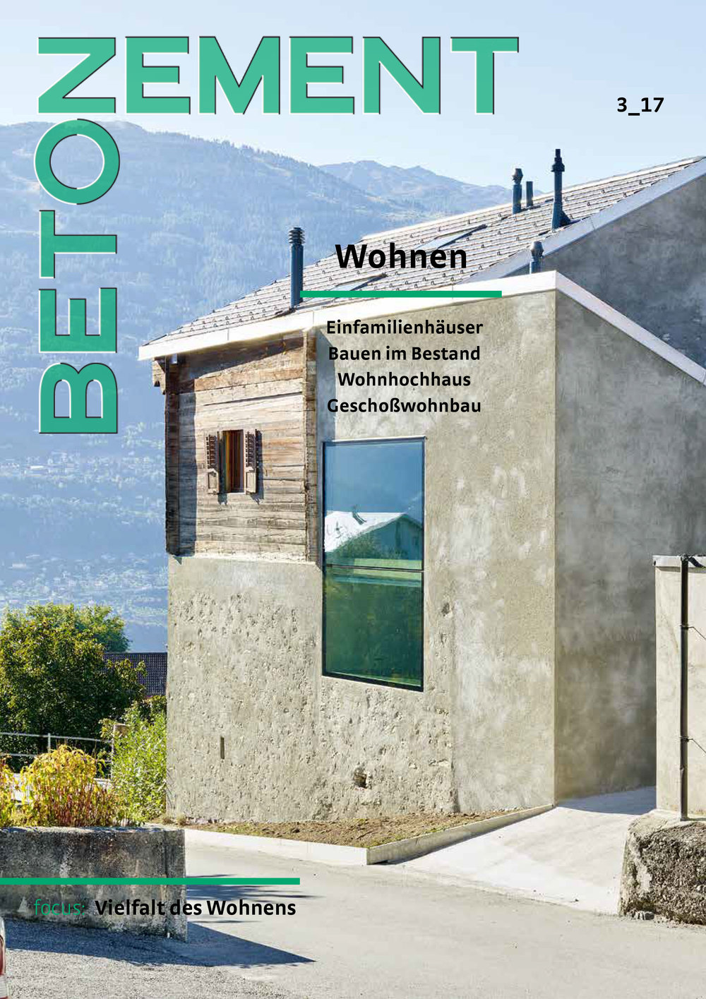 NEW   #VillaMQ in Austrian Magazine BETON ZEMENT   In German