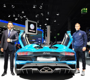 Miketta (R) for Lamborghini