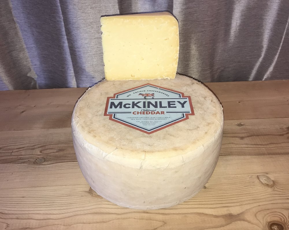 Wm. Cofield proudly presents: McKinley Cheddar.