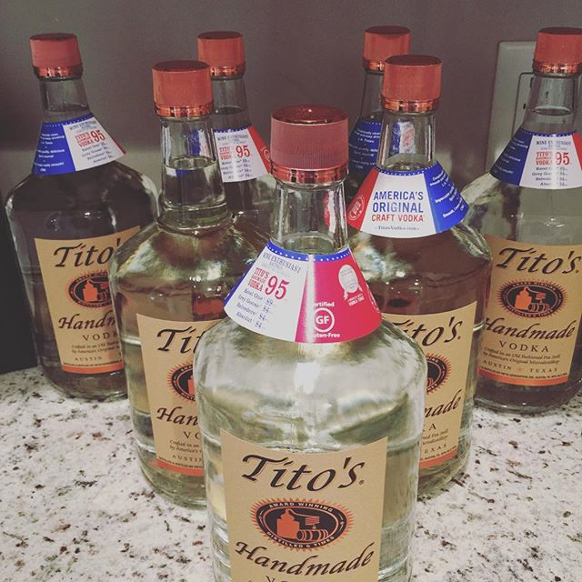 Job security! #titosvodka #getoveryourhangover #jobperks