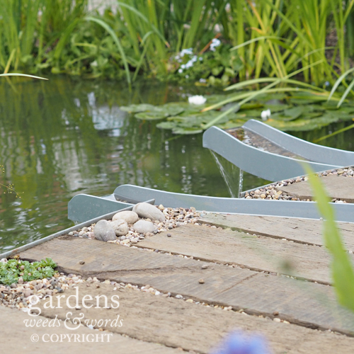 Detail from the Working Wetlands garden by Jeni Cairns.
