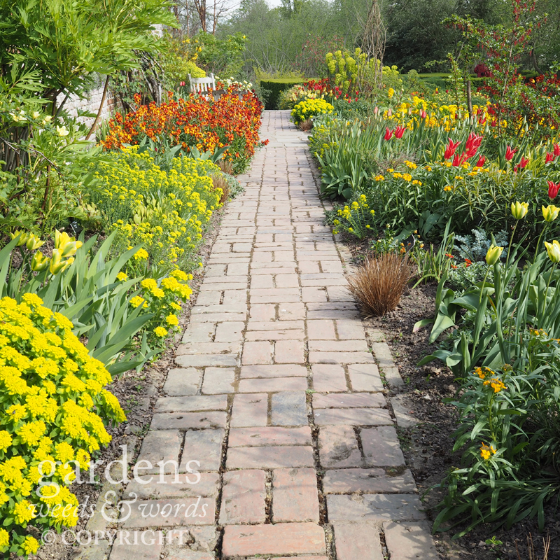 Sissinghurst: the Cottage Garden path