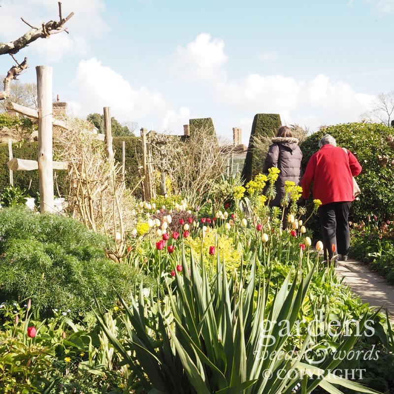 Great Dixter, en route to the vegetable garden, 1 April 2017
