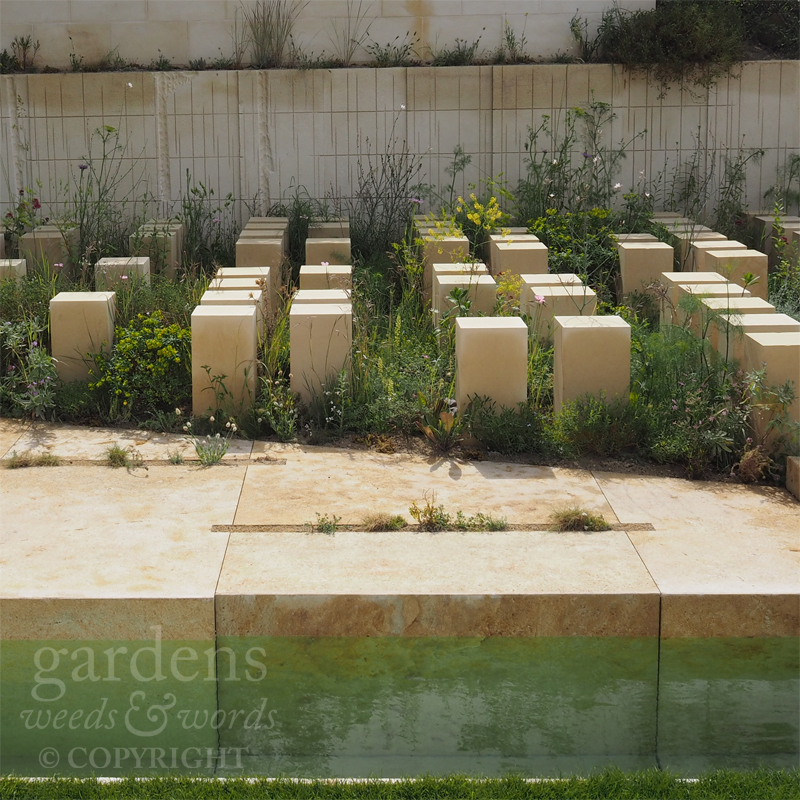 RHS Chelsea Flower Show 2017: detail from  The M&G Garden , by  James Basson