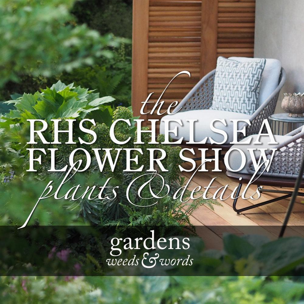 Rhs Chelsea Flower Show 2018 Gardens Weeds Words
