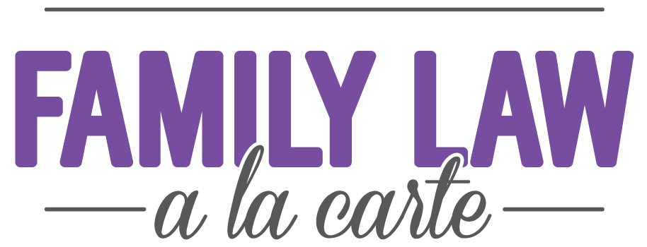 Family Law: A La Carte