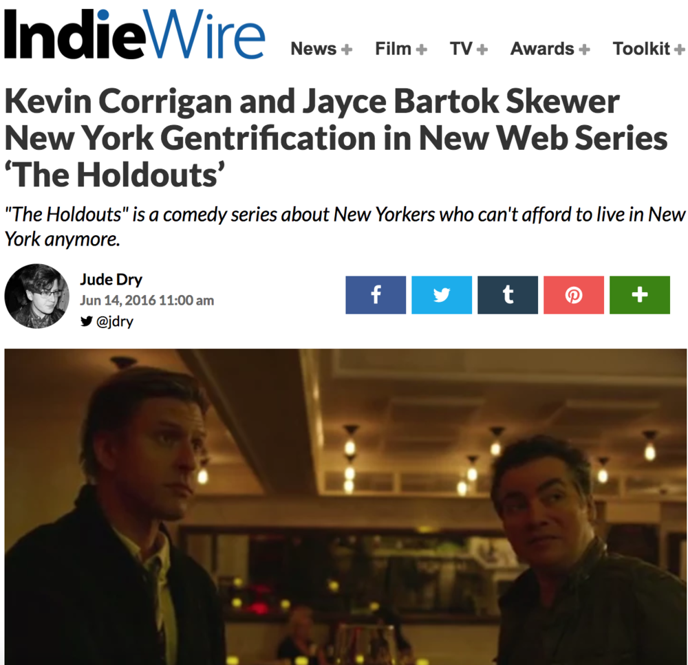IndieWire, June 14, 2016