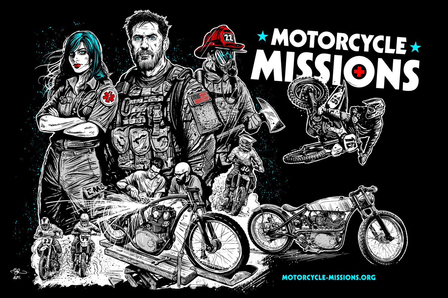About — Motorcycle Missions