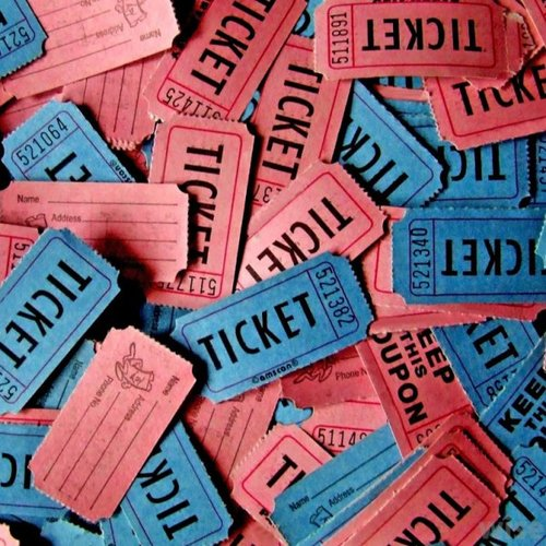 50 RAFFLE TICKETS - APRIL 18 — Motorcycle Missions