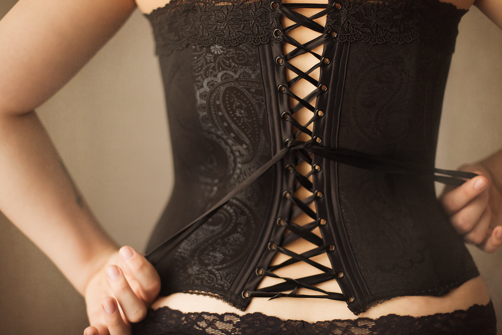 corset detail Boudoir Photography