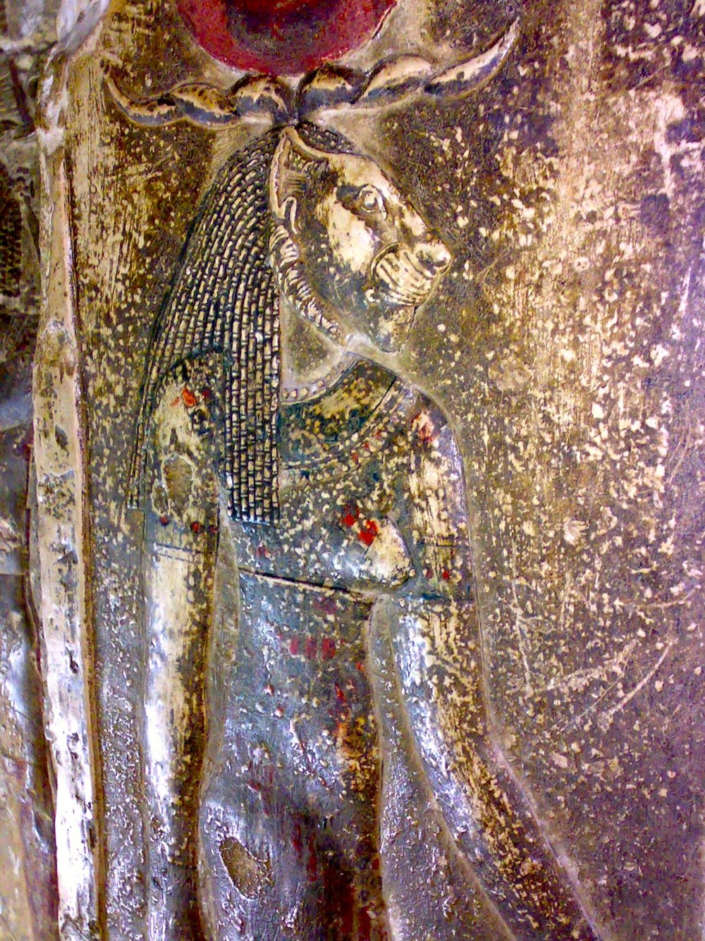 Sekhmet in the Crypt