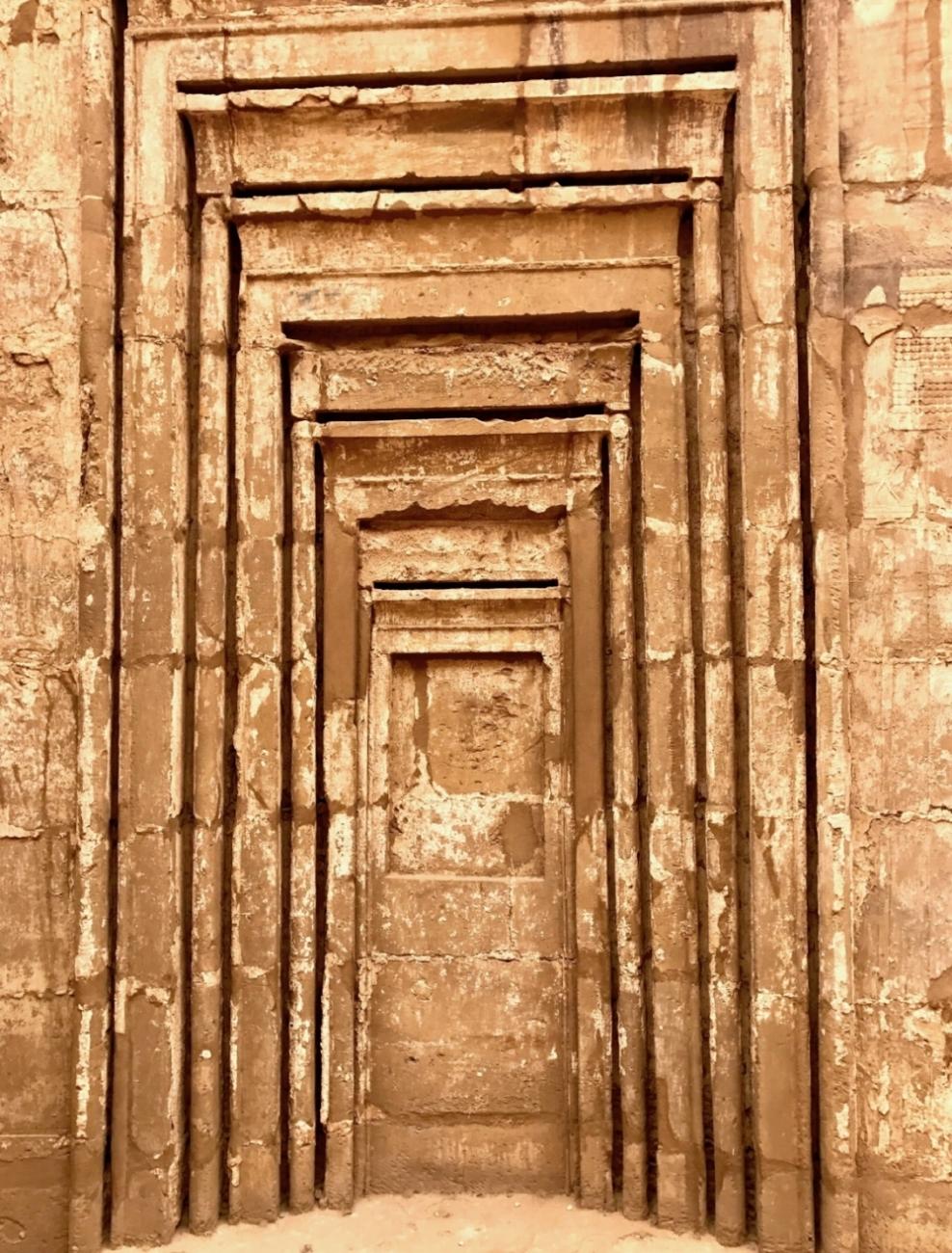 Seven chakra doors