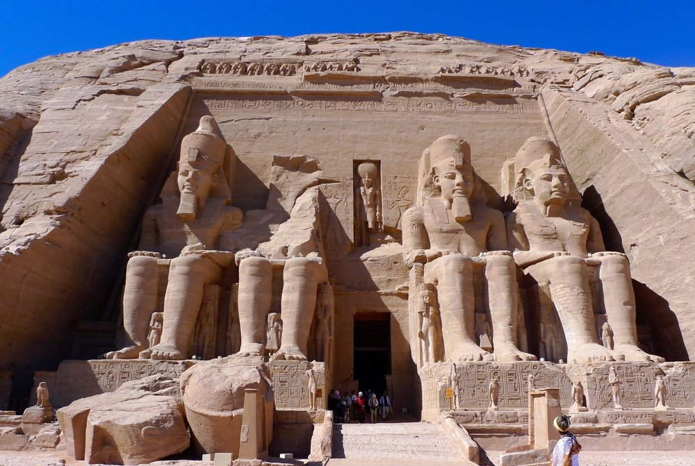 Temple of Rameses II dedicated to God Osiris