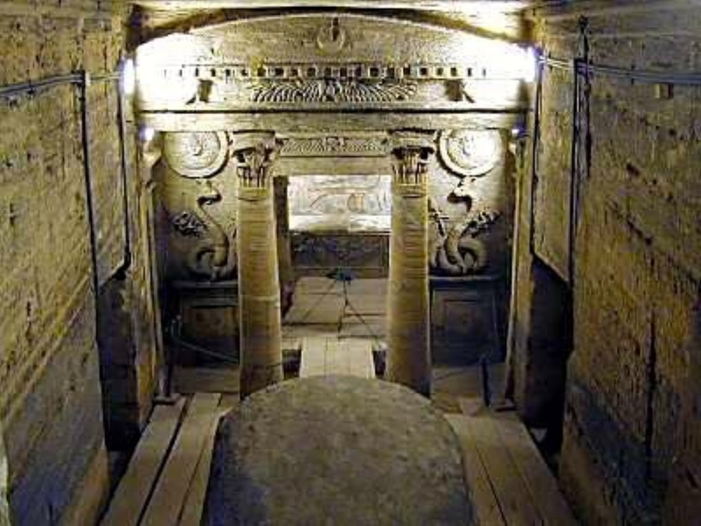 Entrance to Catacombs of Kom el Shoqafa