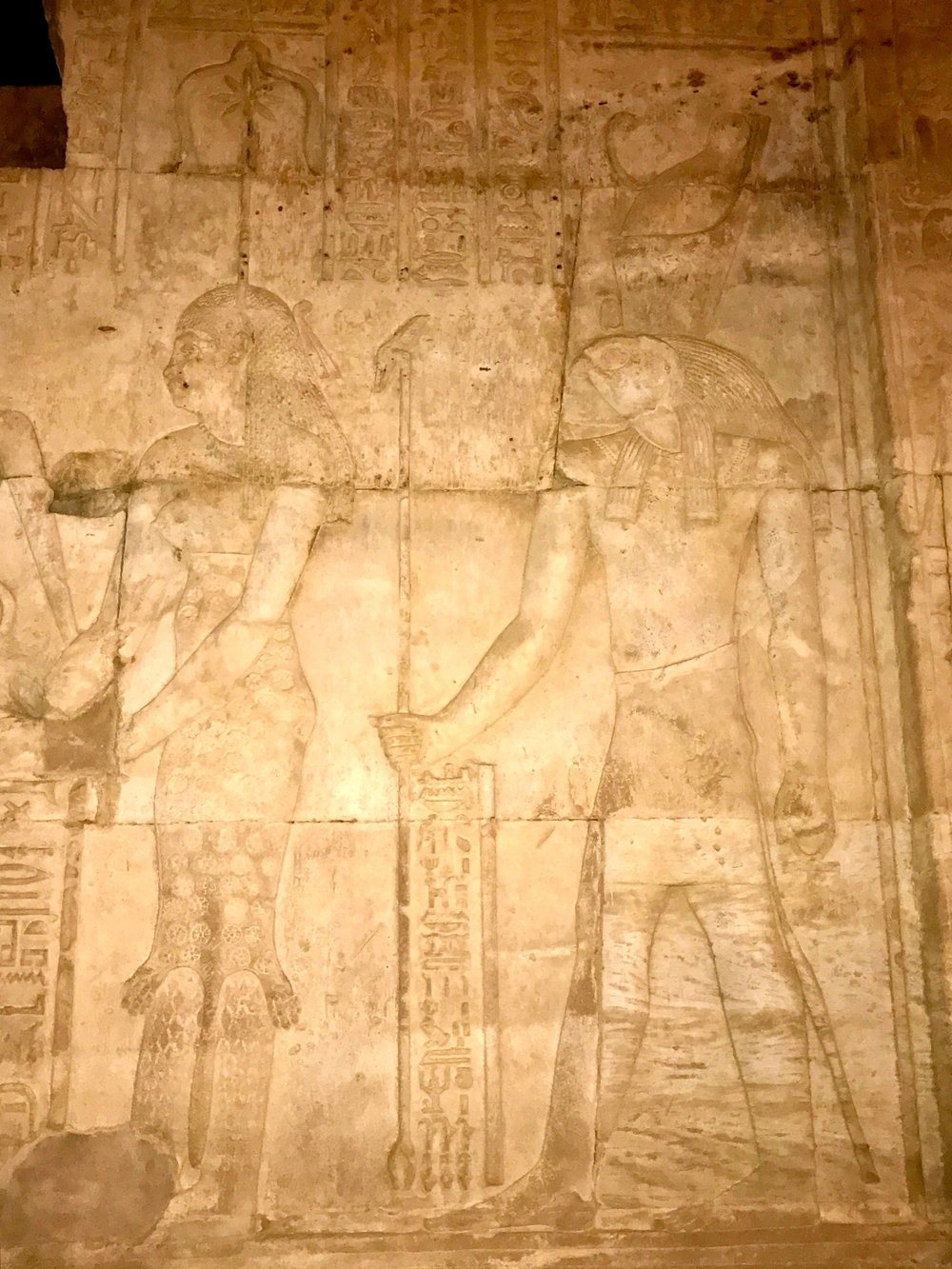 Seshat and Horus