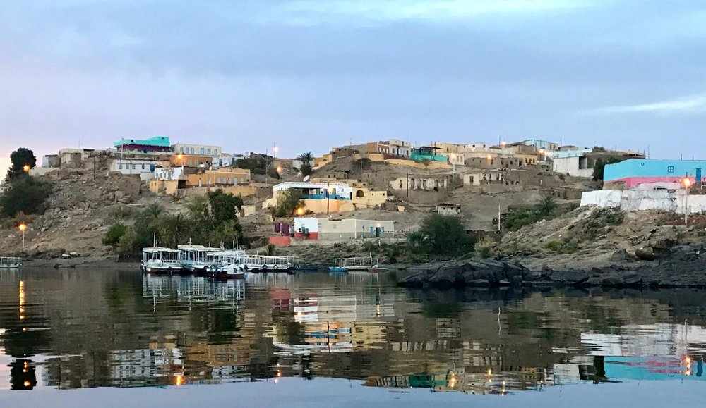 Nubian village adjacent to Philae