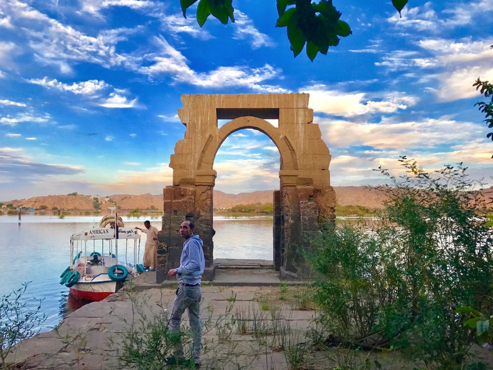 The Original Gate at Philae