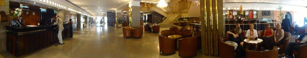 Lobby of Le Meridien Pyramids Hotel
