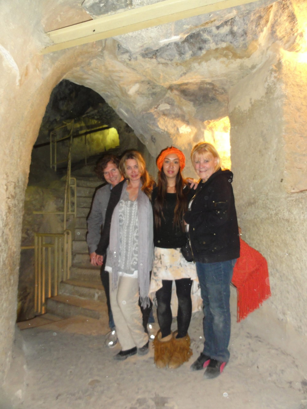2011 Group at the entrance to the stairway inside the Great Pyramid