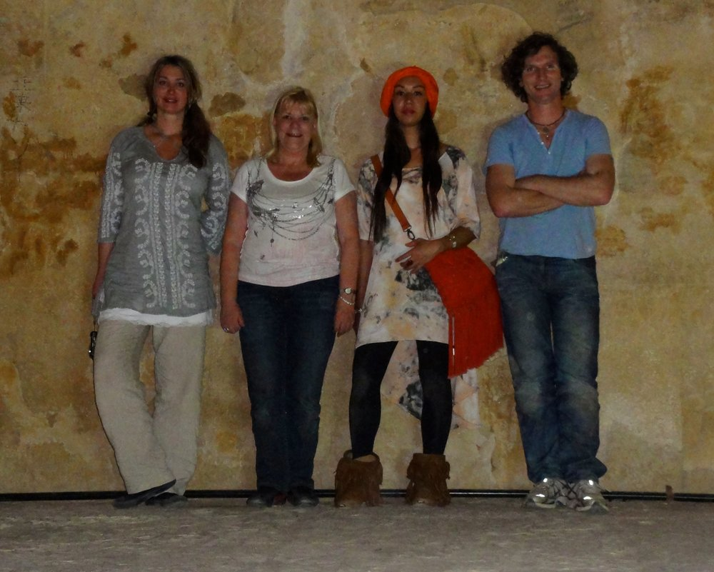 2011 Group in the Queen's Chamber of the Great Pyramid