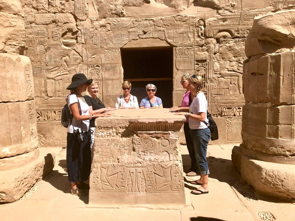 October 2017 Holy of Holies at Temple of Khonsu, Karnak