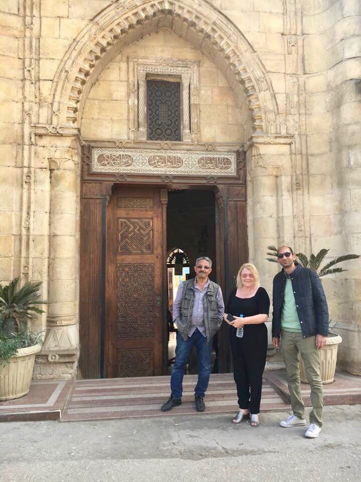 February 2018 with Sabry and Ehab who are the Masters of Egypt travel