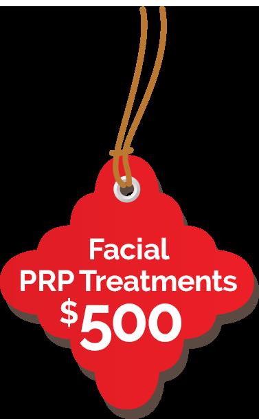 Facial PRP $500