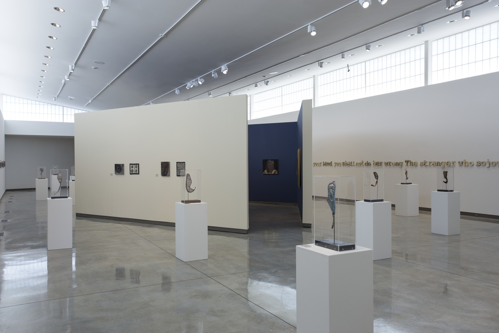 Prayer Paddles , Installation View, Daum Museum of Contemporary Art, Sedalia, Missouri, 2015.