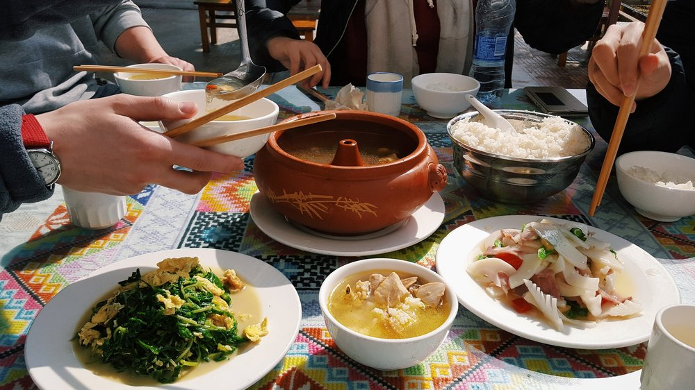Highlight from the 2017 Chen Family Chicken Soup Tour, during which we sampled chicken soups from different cities in China and compared their respective uses of local herbs and weeds.