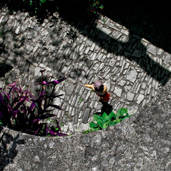 Xilitla, 2010.    Una peculiar historia narrada por un  humilde Cuadrado  * A peculiar story narrated by a  humble SQuare