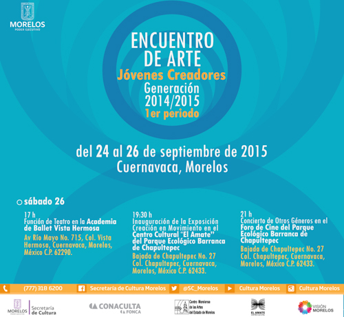 Centro Cultural El Amate, 2015.