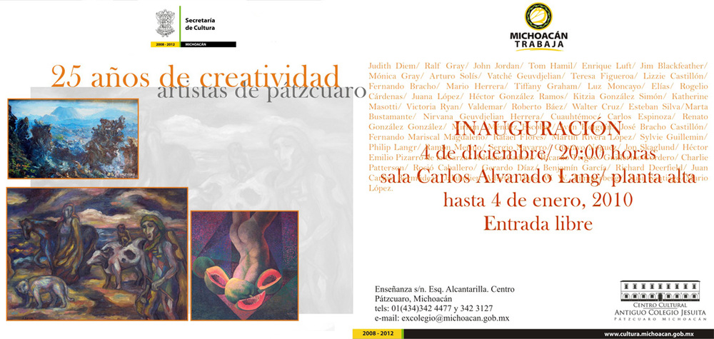 Centro Cultural Antiguo Colegio Jesuita, Pátzcuaro.